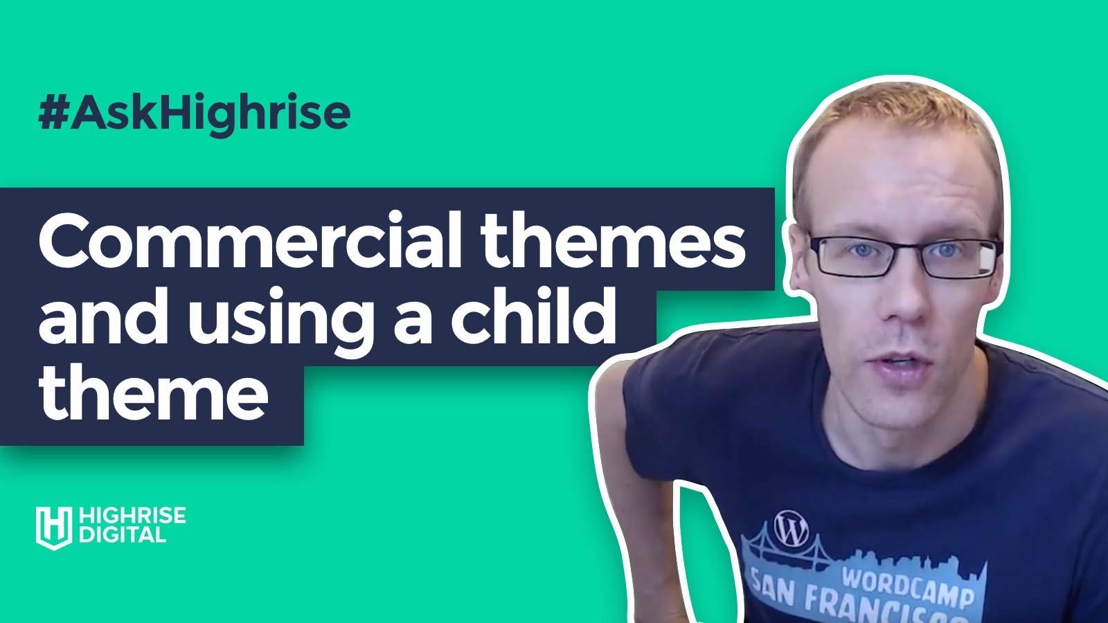 Commercial themes and using a child theme banner image