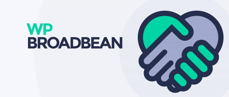 WP Broadbean Logo and name image.